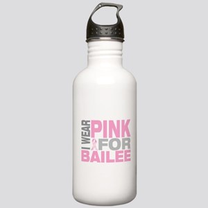 I wear pink for Bailee Stainless Water Bottle 1.0L