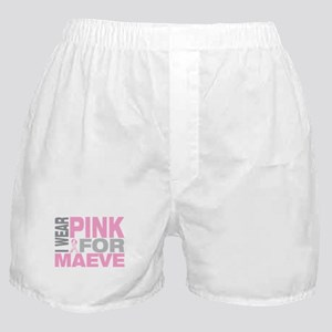 I wear pink for Maeve Boxer Shorts