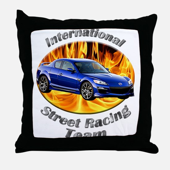 Mazda RX-8 Throw Pillow