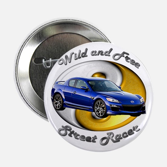 Mazda RX-8 2.25 Inch Button (10 pack)