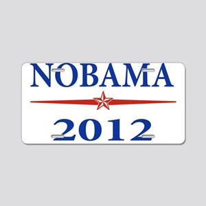 Nobama 2012 Aluminum License Plate