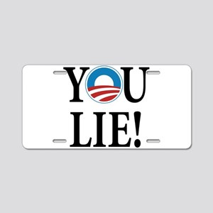 Obama lies Aluminum License Plate