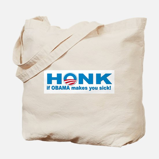Anti obama bumper stickers Tote Bag