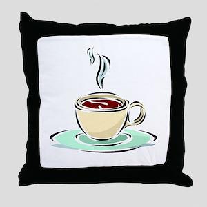 Coffee28 Throw Pillow