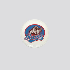 Rams Mini Button