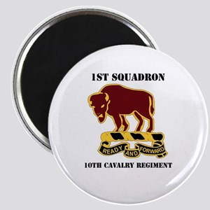 DUI - 1st Sqdrn - 10th Cavalry Regt with Text Magn