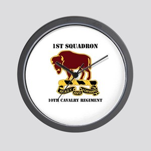 DUI - 1st Sqdrn - 10th Cavalry Regt with Text Wall
