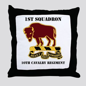 DUI - 1st Sqdrn - 10th Cavalry Regt with Text Thro