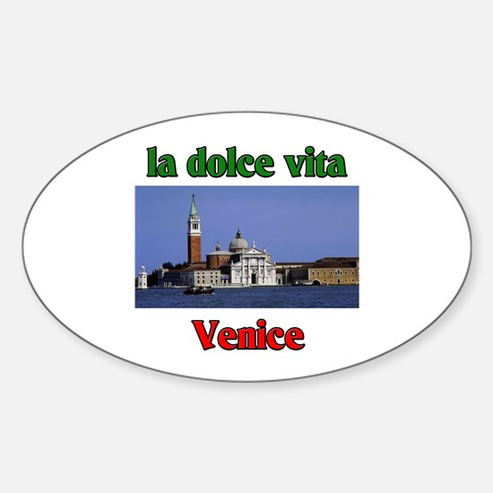 la dolce vita Venice Oval Decal