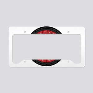 Qwerty Vortex License Plate Holder