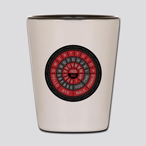 Qwerty Vortex Shot Glass