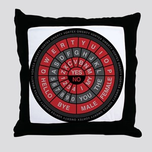 Qwerty Vortex Throw Pillow