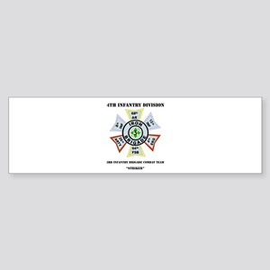 4th infantry division bumper stickers cafepress dui 3rd infantry bct striker with text sticker colourmoves