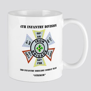 DUI - 3rd Infantry BCT - Striker with Text Mug