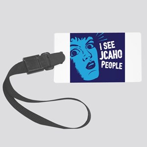 Jcaho People 02 Large Luggage Tag