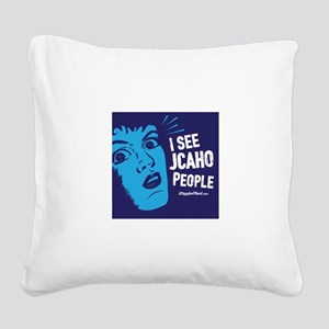 JCAHO People 02 Square Canvas Pillow