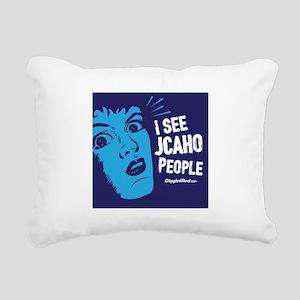 JCAHO People 02 Rectangular Canvas Pillow