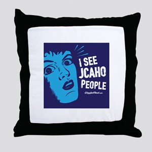 JCAHO People 02 Throw Pillow