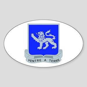 DUI - 1st Bn - 68th Armor Regt Sticker (Oval)