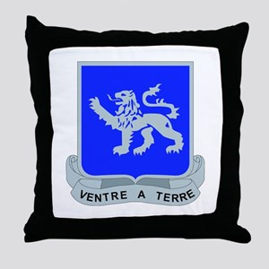 DUI - 1st Bn - 68th Armor Regt Throw Pillow