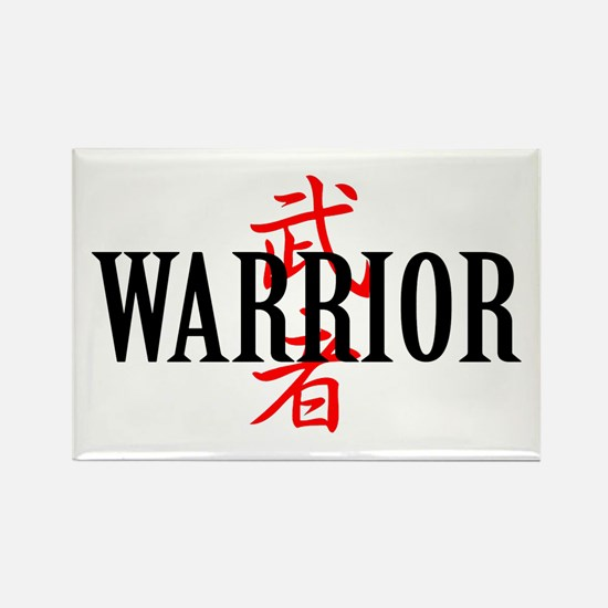 Warrior Rectangle Magnet