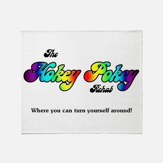 Hokey Pokey Rehab Throw Blanket