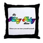 Hokey Pokey Rehab Throw Pillow