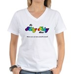 Hokey Pokey Rehab Women's V-Neck T-Shirt