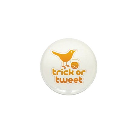"""Trick or Tweet"" Mini Button (10 pack)"