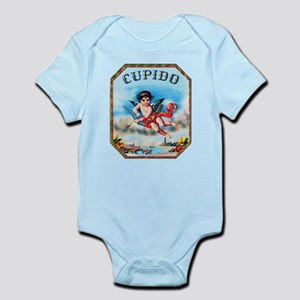 Cupid Cigar Label Infant Bodysuit