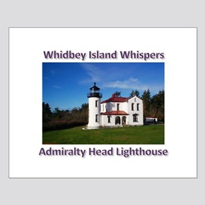 Admiralty Head Inlet Lighthou Small Poster