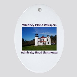 Admiralty Head Inlet Lighthou Ornament (Oval)