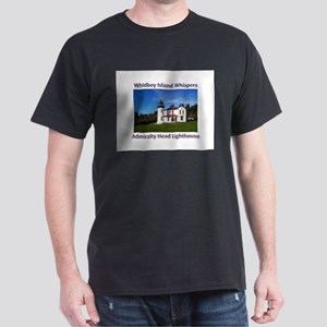 Admiralty Head Inlet Lighthou Dark T-Shirt