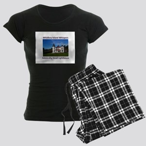 Admiralty Head Inlet Lighthou Women's Dark Pajamas