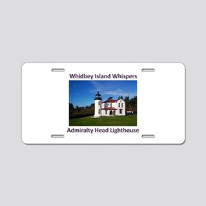 Admiralty Head Inlet Lighthou Aluminum License Pla