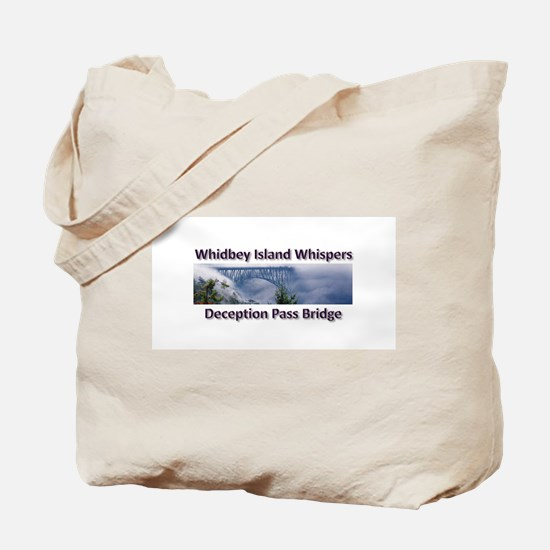 Deception Pass Bridge Tote Bag
