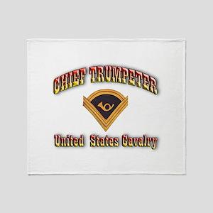 Chief Trumpeter Throw Blanket