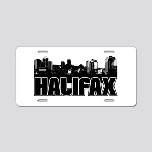 Halifax Skyline Aluminum License Plate