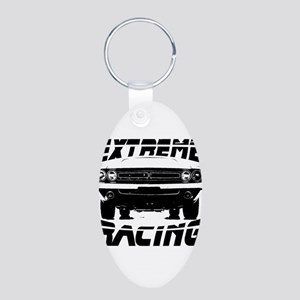 New Challanger ND Aluminum Oval Keychain