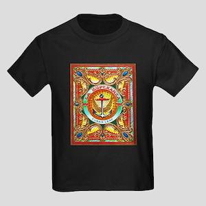 Cuban Art Cigar Label Kids Dark T-Shirt
