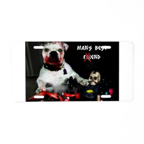 Zombie Pets Aluminum License Plate