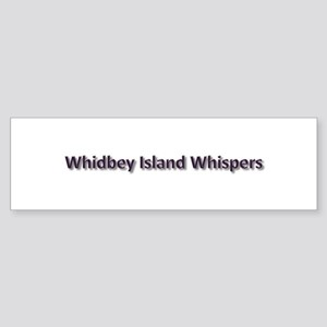 Whidbey Island Whispers Sticker (Bumper)