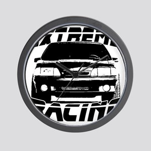New Mustang Racing Wall Clock