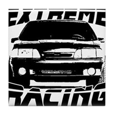 New Mustang Racing Tile Coaster