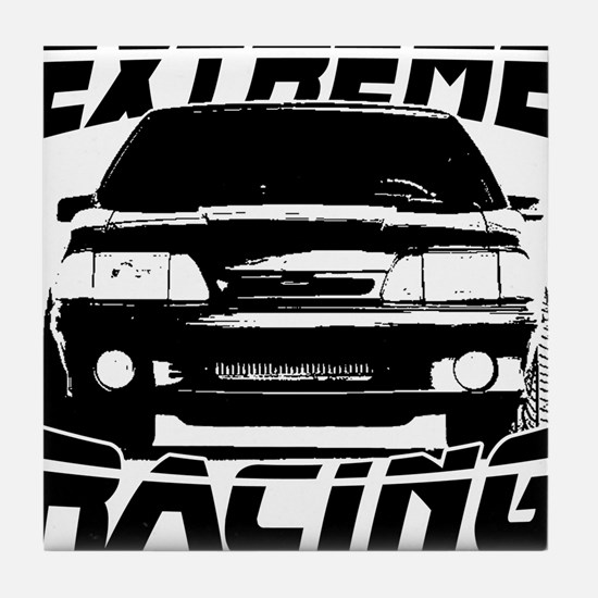 New Mustang Racing Tile Coaster