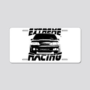 New Mustang Racing Aluminum License Plate