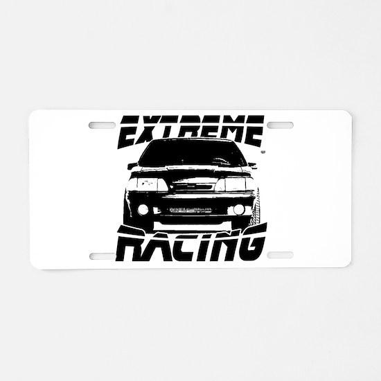 New Mustang Racing Aluminum License Plate