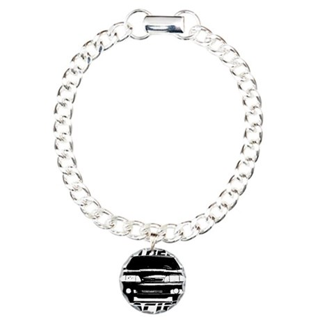 New Mustang Racing Charm Bracelet, One Charm