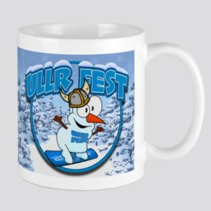UllrFest Snowboarder Mug