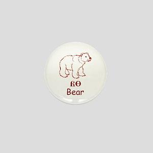 Baby Cherokee Bear Mini Button